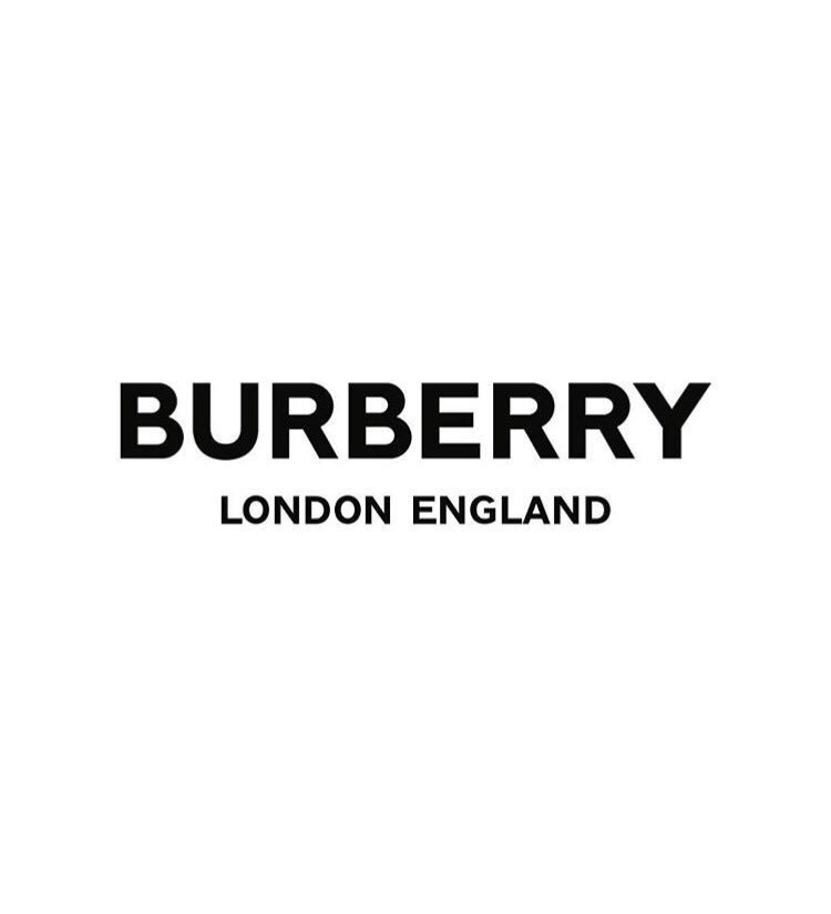 Burberry's new face and new Logo's