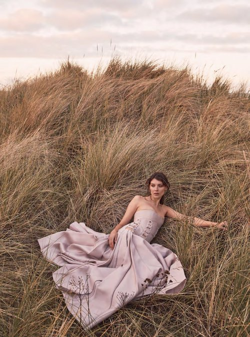 Kati Nescher for Harper's Bazaar UK January 2019